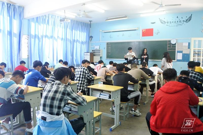 学生会动态丨18级新两委干事入职笔试